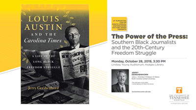 """The Power of the Press: Southern Black Journalists and the 20th-Century Freedom Struggle"""