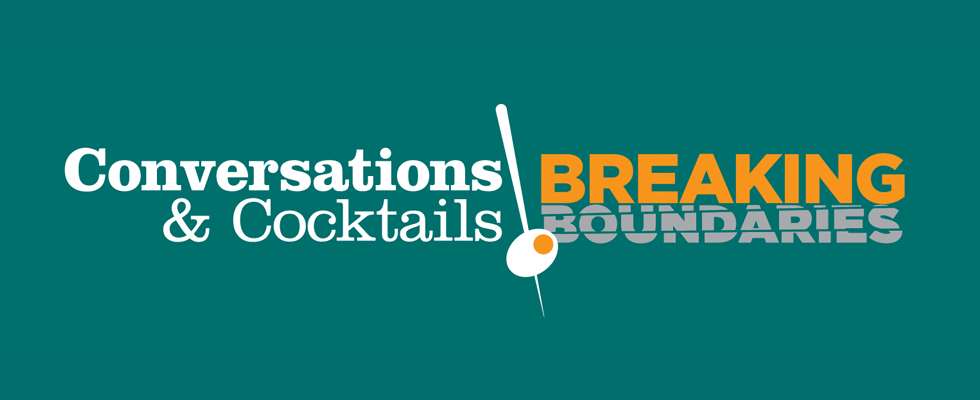 Join us at Conversations and Cocktails!